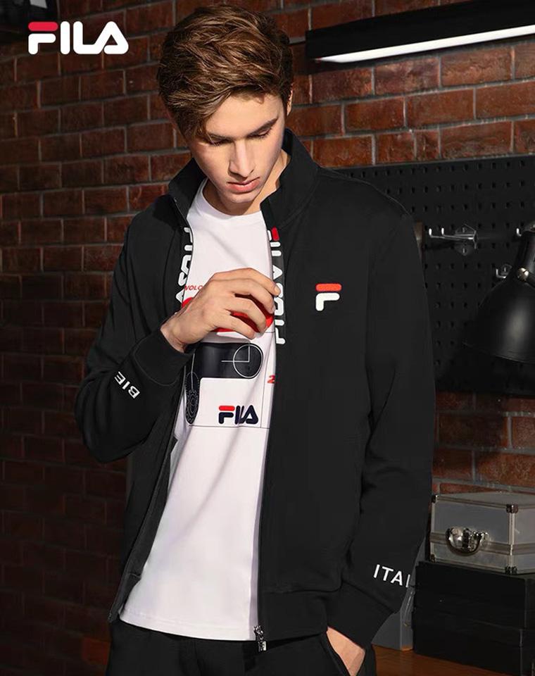 给纯爷们的硬核好货  仅168元 法国FILA斐乐纯正原单  21秋季最新 防水拉链外套