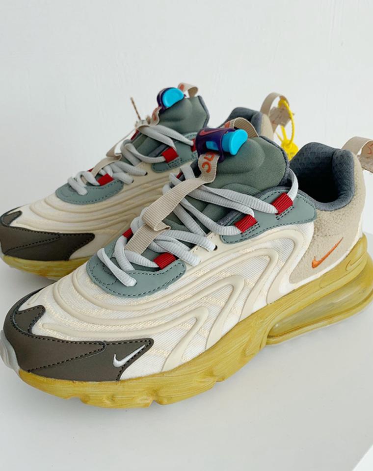 最新配色270  男女款超舒适环绕气垫  脚感似弹簧般!仅198元  248元  男女运动鞋彩虹气垫休闲缓震跑步鞋