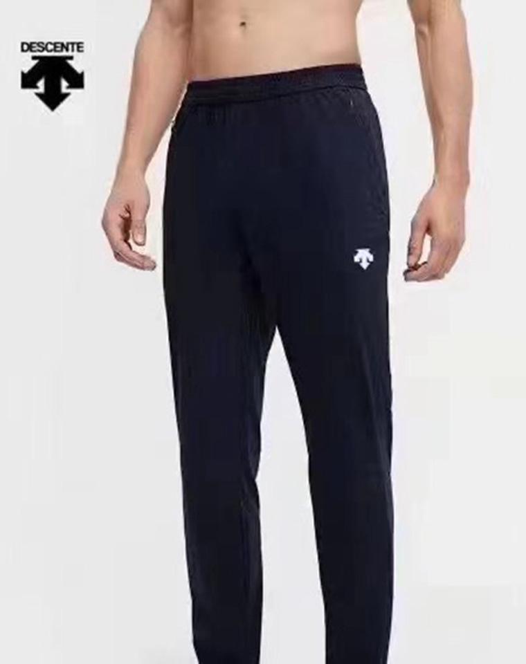 给纯爷们の  绝不起球绝不变形 仅108元 DESCENTE迪桑特纯正原单 秋款卫裤