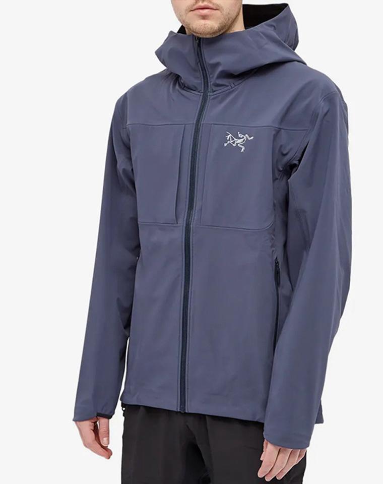小硬货!! 男女款仅268元  加拿大Arcteryx始祖鸟纯正原单  轻量软壳外套 内里水貂绒薄棉外套