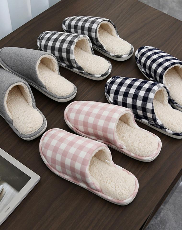 自留分享 奏是好穿男女款  仅29.9元  日本订单  毛绒触感 保暖舒适 柔软羊羔毛 防滑居家拖鞋秋冬