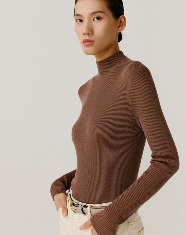 高端无缝针织  100%绵羊毛 仅168元  ICICLE之禾纯正原单  三色高领绵羊衫
